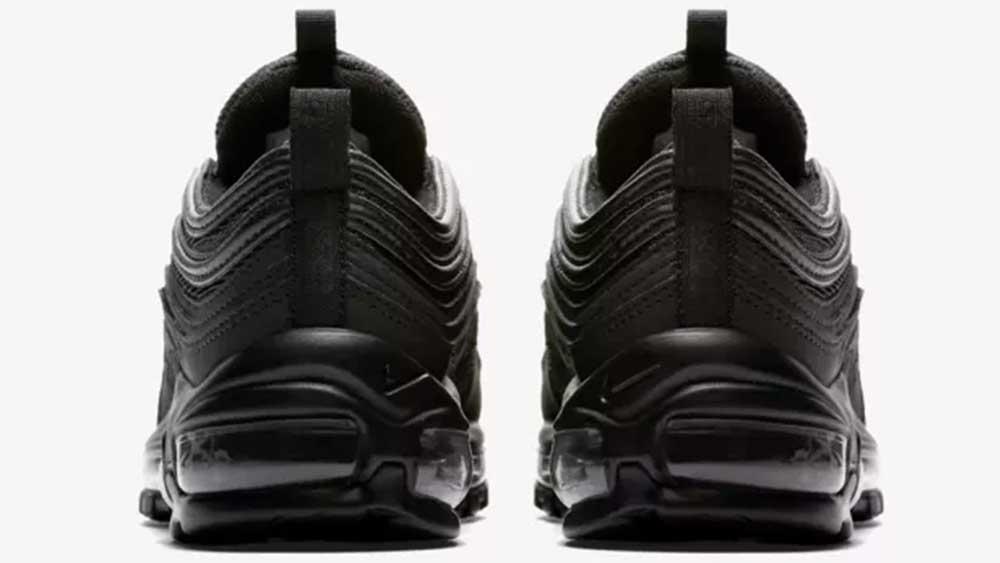 Nike Air Max 97 Black Mono OG Grade School  36eaba765