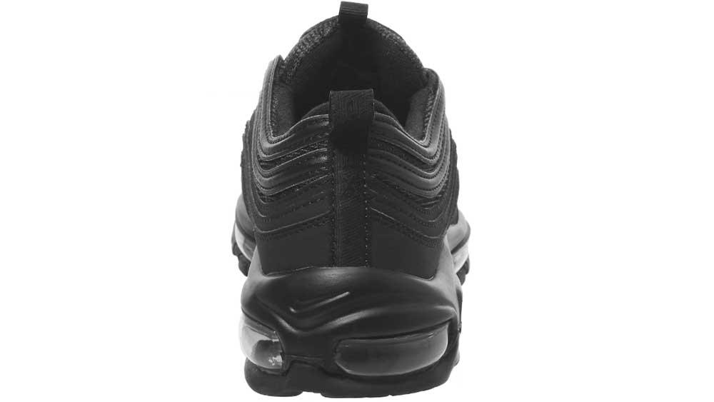 43966fc81801de Nike Air Max 97 Black Mono OG Grade School