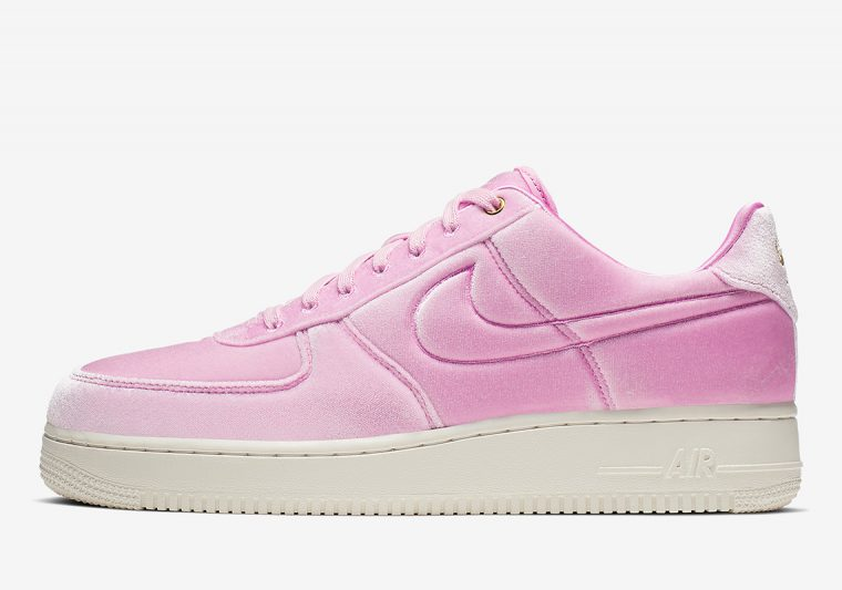 Nike's Velour Adorned Air Force 1s Are Beautifully Plush