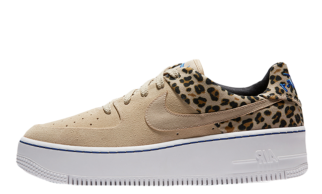Nike Air Force 1 Sage Low Premium Leopard Print | BV1979 200