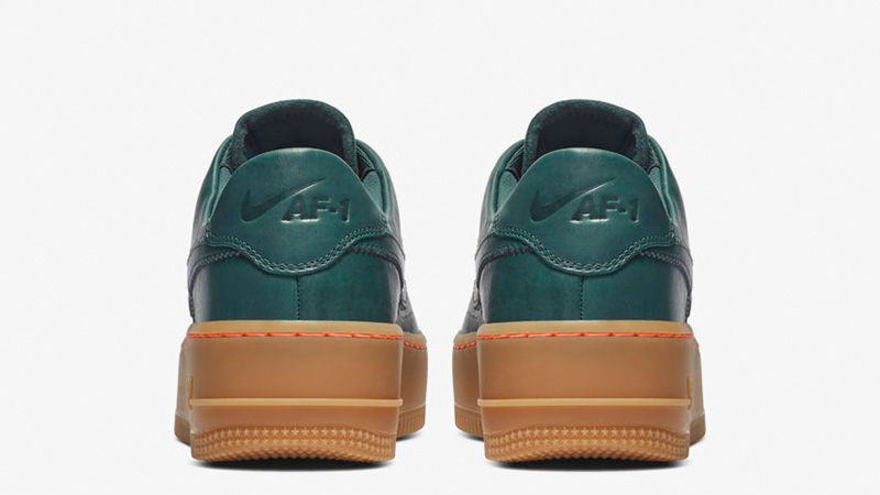 Nike Air Force 1 Sage Low Lx Deep Jungle Ar5409 300 The Sole Womens
