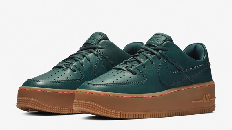 Nike Air Force 1 Sage Low Deep Jungle Shoes Best Price AR5409 300