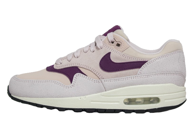 Nike Air Max 1 Premium Pink Womens 454746-604