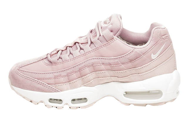 design intemporel 76eff a9ac1 Nike Air Max 95 PRM Plum Chalk Rose Womens | 807443-503