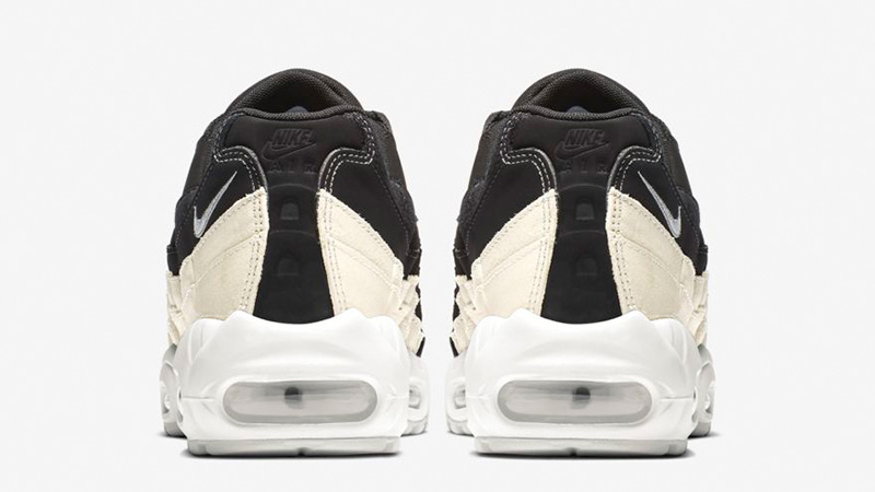 outlet store 0386b 1e998 Nike Air Max 95 Premium Contrast Black White 807443-017 01