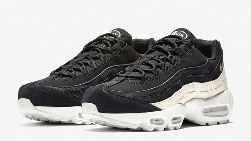 1d33134a00 Nike Air Max 95 Premium Contrast Black White | 807443-017 | The Sole ...