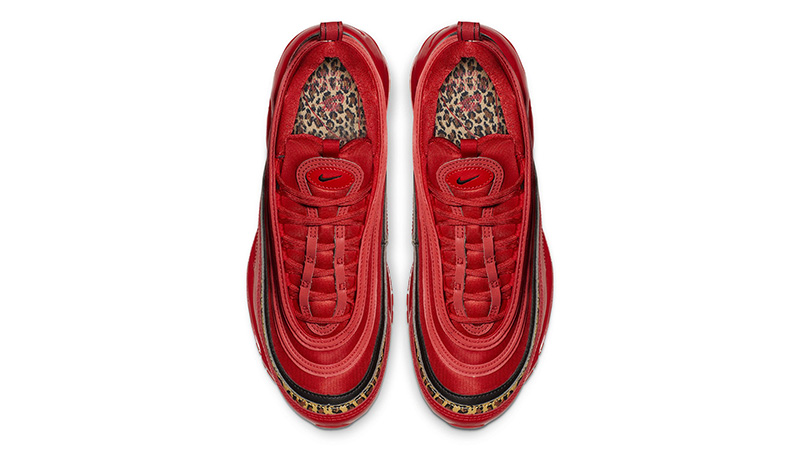 Nike Air Max 97 Red Leopard Pack Womens