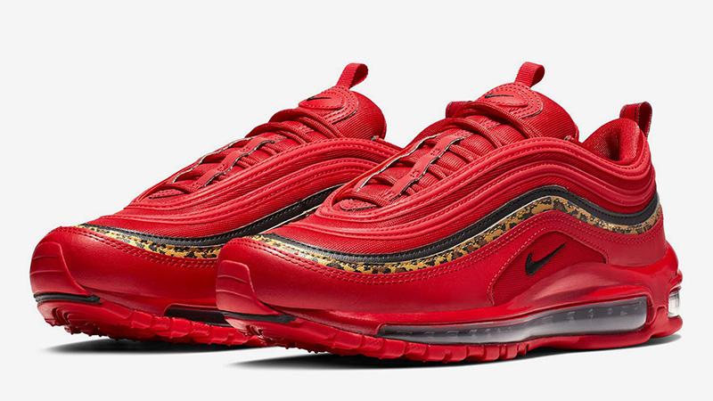 Nike Wmns Air Max 97 Premium | Red | Sneakers | 917646 600