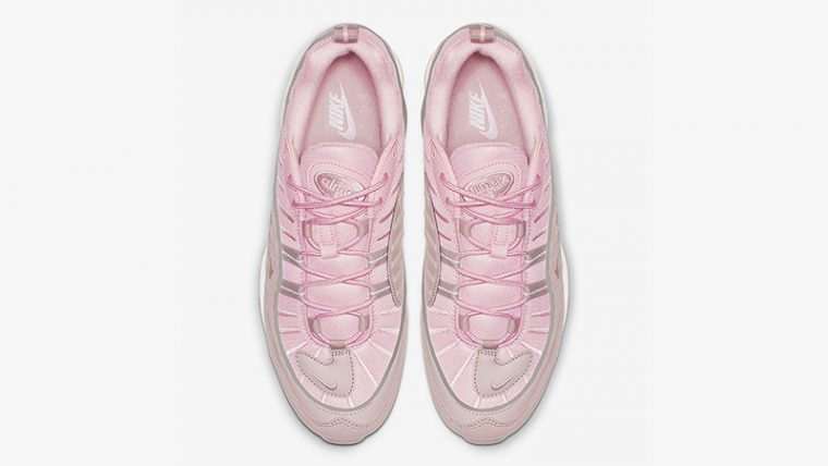 Nike Air Max 98 Triple Pink 640744-200 02 thumbnail image