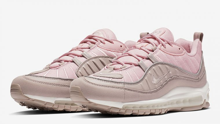 Nike Air Max 98 Triple Pink 640744-200 03 thumbnail image