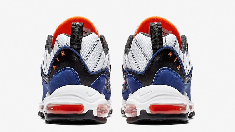 Nike Air Max 98 White Blue CD1536-100 01