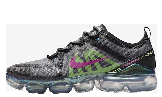 9ae36e25659 Nike Air VaporMax 2019 PRM Grey Green