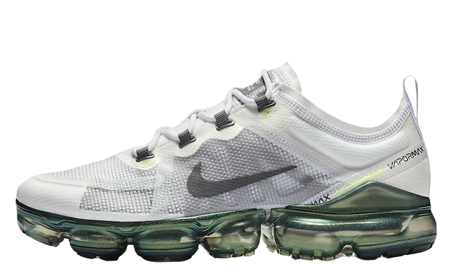 brand new 68d54 3703d Nike Air VaporMax 2019 PRM White Lime Blast | AT6810-100