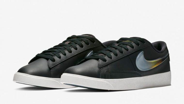 Nike Blazer Low LX Black AV9371-002 03 thumbnail image
