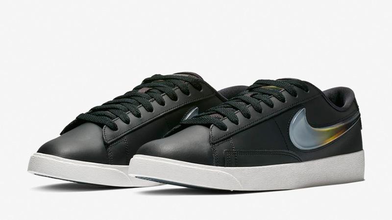 sale retailer 45355 87b88 Nike Blazer Low LX Black   AV9371-002