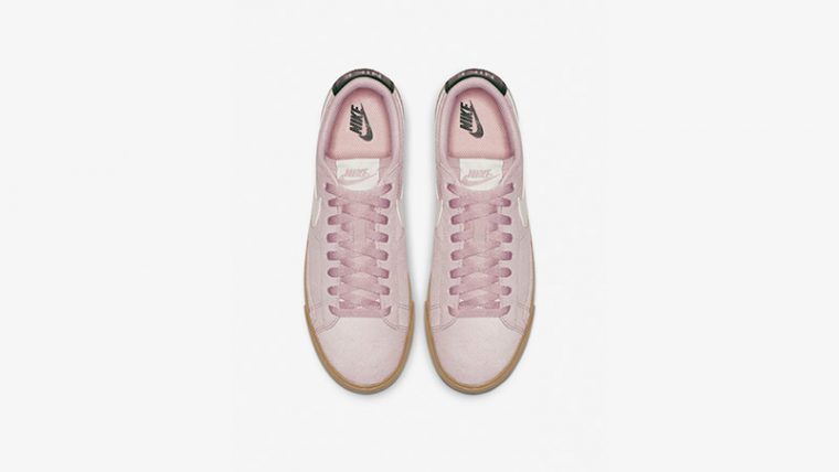 Nike Blazer Low Suede Plum Chalk AV9373-500 02 thumbnail image