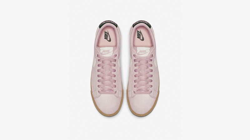Nike Blazer Low Suede Plum Chalk AV9373-500 02