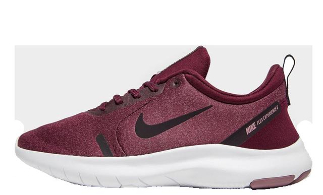 Nike Flex Experience RN 8 Maroon Womens