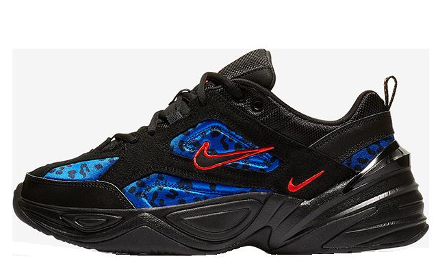 Nike M2k Tekno Black Blue Womens CD0181-001