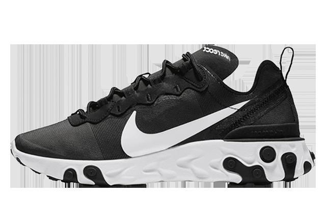 Nike React Element 55 Black White BQ2728-003