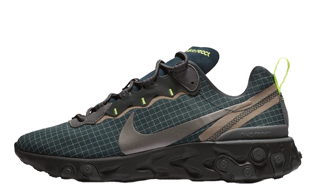 Nike React Element 55 Green Grid | CD1503-400