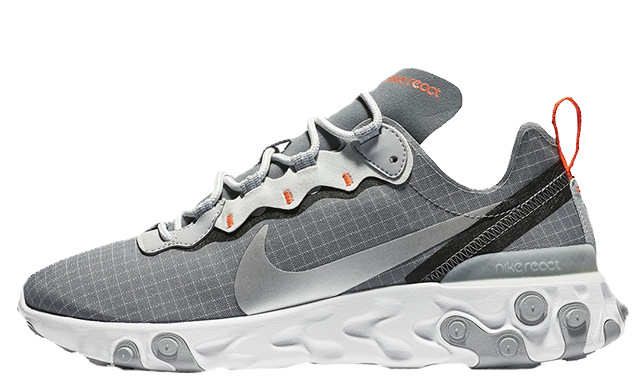 new lower prices official shop hot sales Nike React Element 55 Grey Grid | CD1503-001