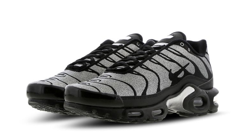 Nike Tn Air Max Plus Black Glitter | CD2239-001 | The Sole Womens
