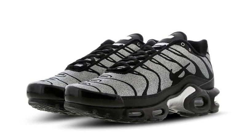 1260836b2 Nike Tn Air Max Plus Black Glitter | CD2239-001 | The Sole Womens