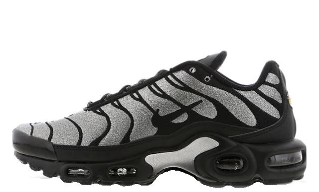 Nike Tn Air Max Plus Black Glitter | CD2239-001 | The Sole Womens
