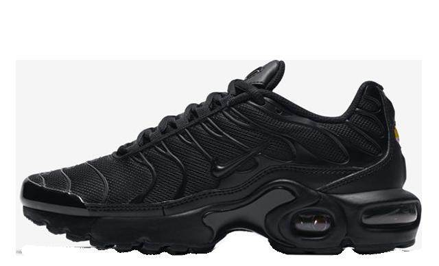 Nike TN Air Max Plus Black Kids 655020-009