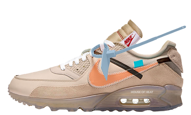 timeless design ff7da 01ffe Off-White x Nike Air Max 90 Desert Ore   AA7293-200. Release  Thu 7th Feb,  2019 9am GMT