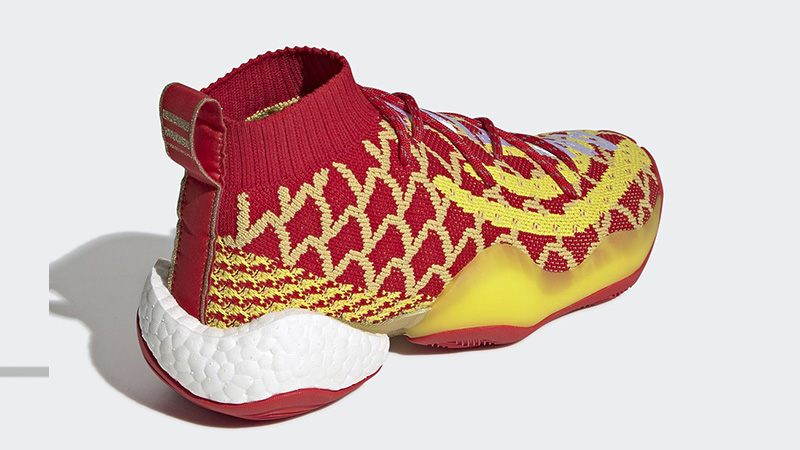 official photos 457b4 8ed89 Pharrell x adidas Crazy BYW Chinese New Year Red  EE8688