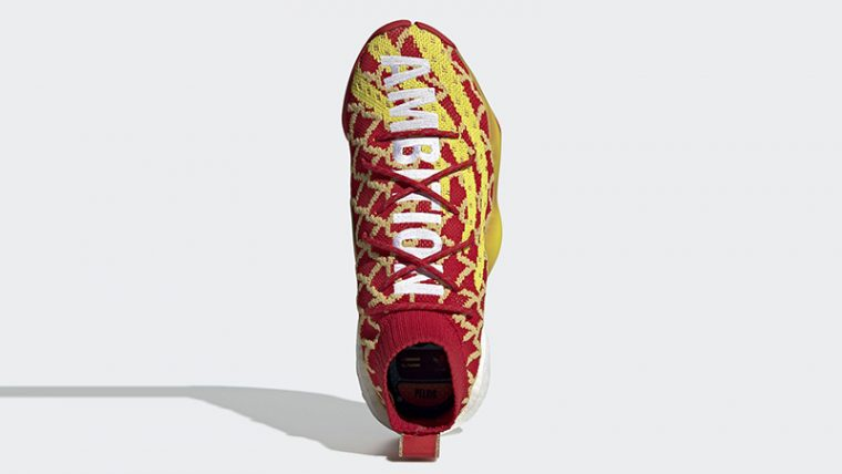 8e7011c08f412 Pharrell x adidas Crazy BYW Chinese New Year Red