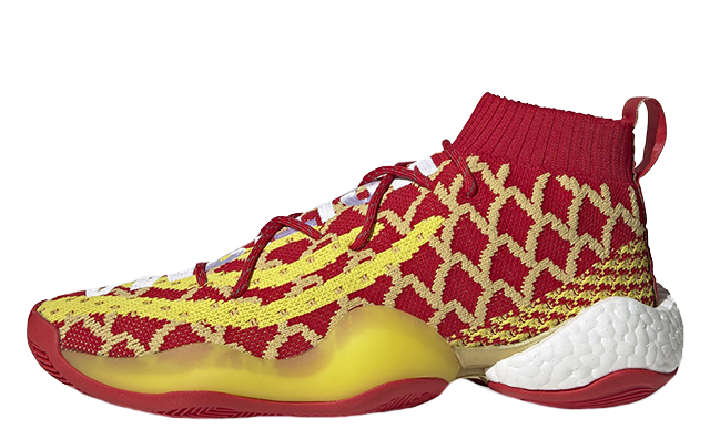 quality design 5a59e 10e8d Pharrell x adidas Crazy BYW Chinese New Year Red | EE8688