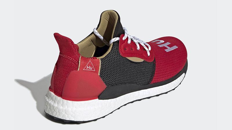 Pharrell x adidas Solar Hu Chinese New Year Red Black EE8701 01