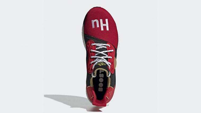 Pharrell x adidas Solar Hu Chinese New Year Red Black EE8701 02 thumbnail image
