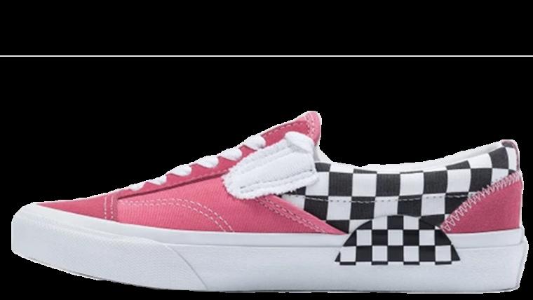 Vans Slip On Cap Pink Check