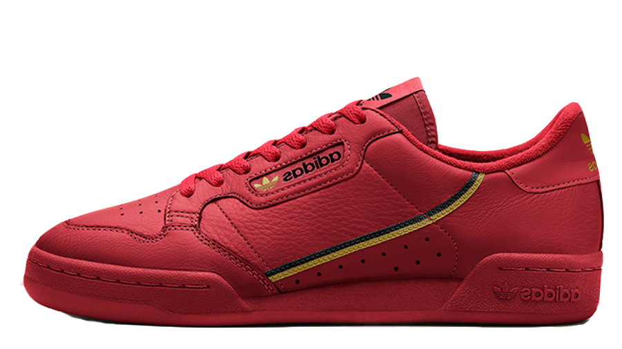 Escudero Platillo Escalera  adidas Continental 80 Red | Where To Buy | EE4144 | The Sole Womens
