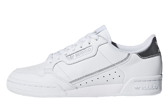 47decfcf769dbe ... adidas Continental 80 White Silver. Shop this unique pair via the  stockists listed and be sure to stay tuned for more colourway updates in  the new year!