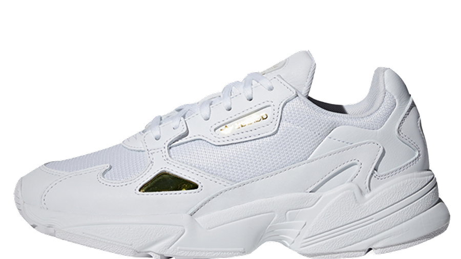 virtual Omitir Adaptado  adidas Falcon White Gold Womens | Where To Buy | EE8838 | The Sole Womens