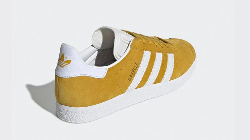 adidas Gazelle Yellow White DA8870 01