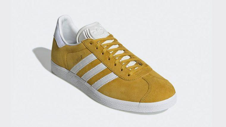 adidas Gazelle Yellow White DA8870 03 thumbnail image