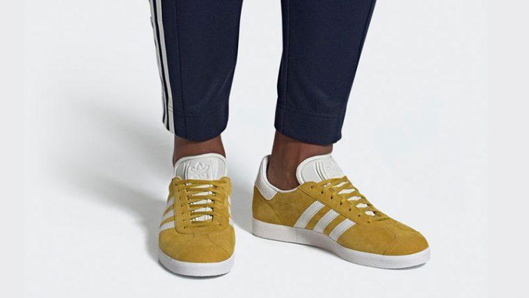 adidas Gazelle Yellow White DA8870 04 thumbnail image