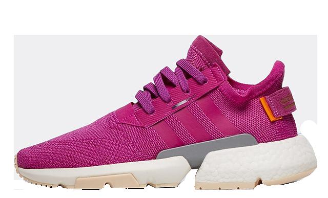 adidas POD S3 1 Pink White Womens