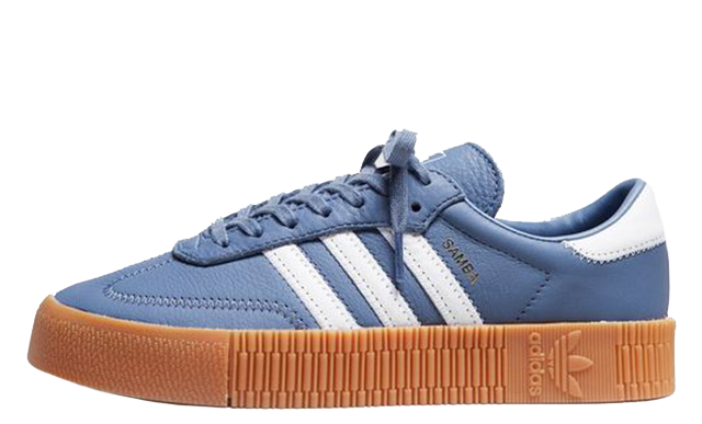adidas Samba Rose Blue Gum Womens DB2695
