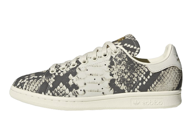 new style b1d8b 3bd56 adidas Stan Smith Grey Snakeskin | BD8071