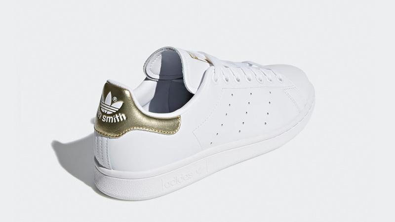 adidas Stan Smith White Gold EE8836 01