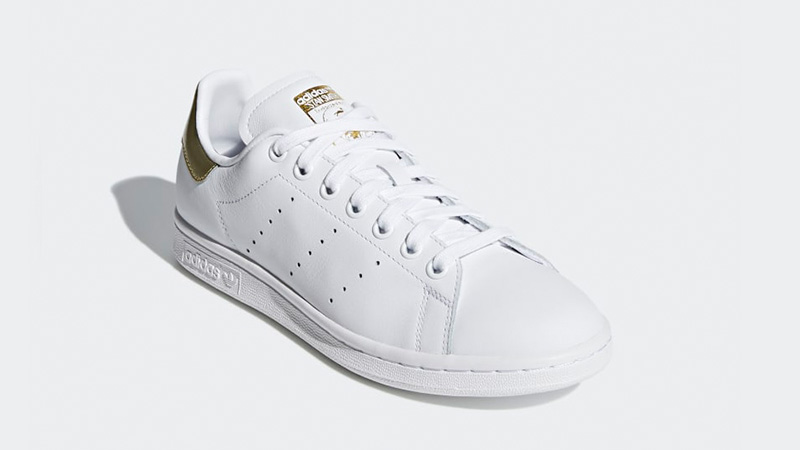 official photos f6aad e8c4e adidas Stan Smith White Gold | EE8836