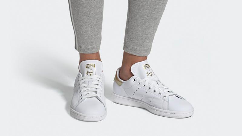 adidas Stan Smith White Gold EE8836 04