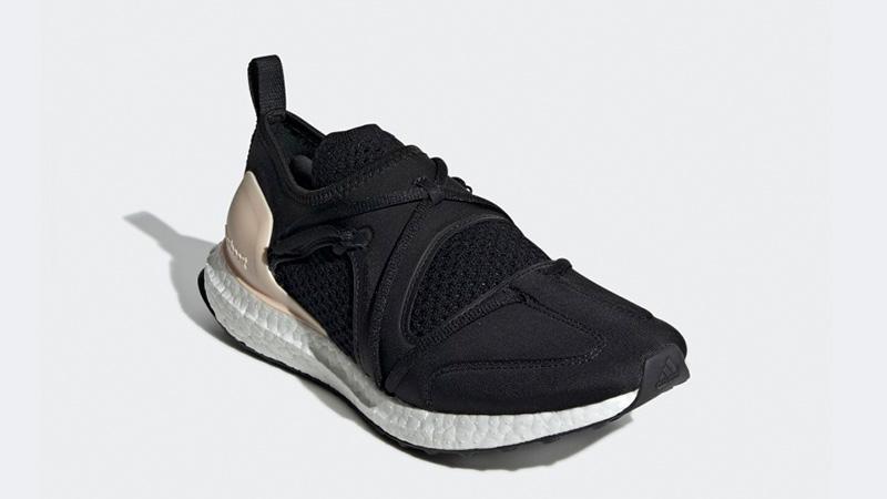 adidas Ultra Boost T Black Beige Womens F35837 05